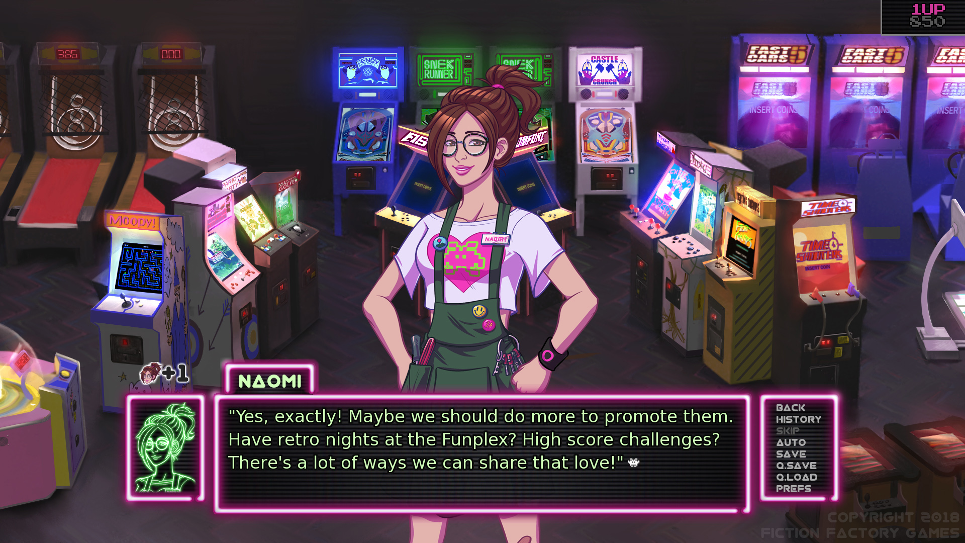 Arcade Spirits - A Visual Novel Romantic Comedy